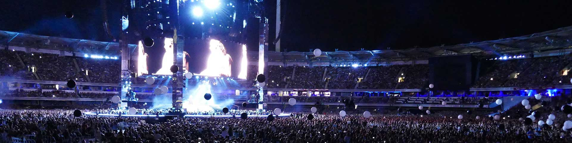 Adele Concert at The Gabba