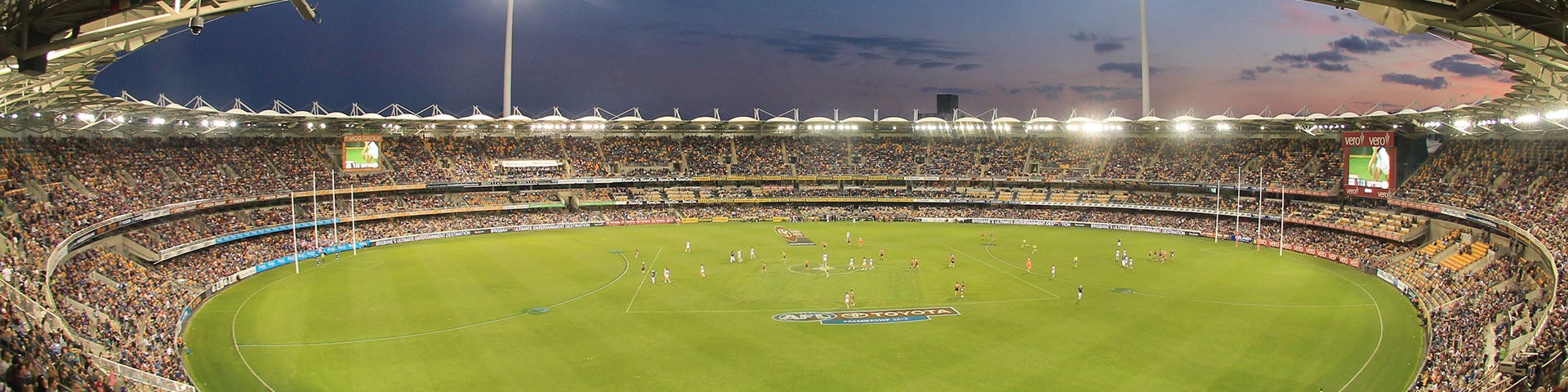 Gabba Stadium View