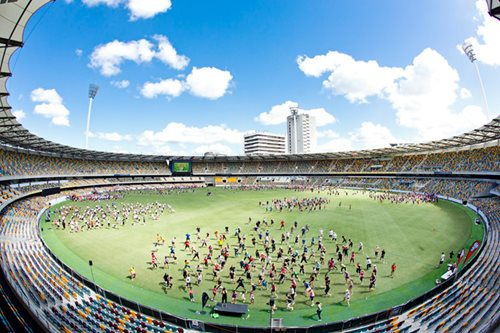 Muscle Up For MND at The Gabba